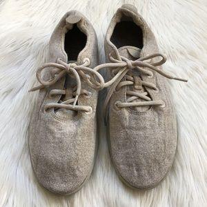 Men's Allbirds Wool Runners Tan Sneakers Shoes 12
